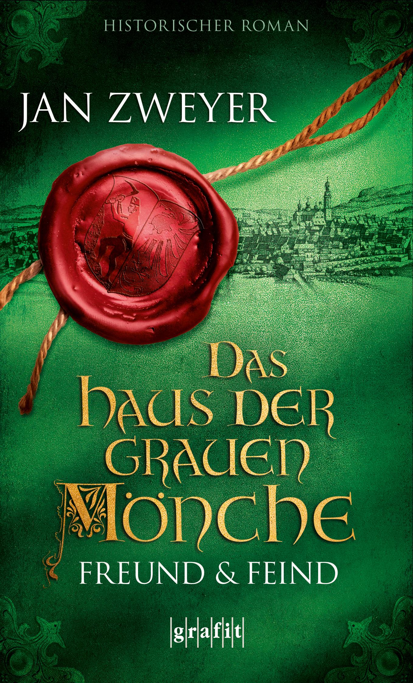 Grafit Verlag Das Haus der grauen Mönche – Freund und Feind